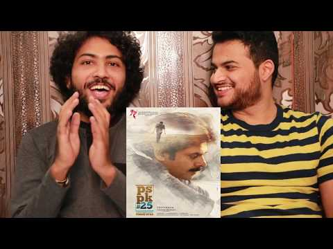 #PSPK25 musical surprise video reaction !!...
