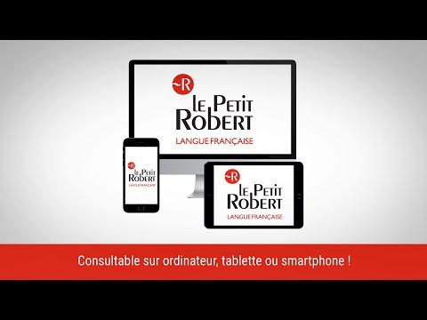 Le Petit Robert de la langue française - Le dictionnaire numérique de référence