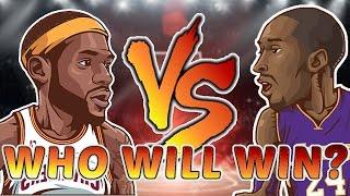 Kobe Bryant vs LeBron James!! WHO IS BETTER