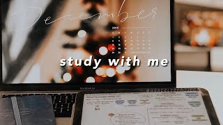 STUDY WITH ME \\ Fireplace ASMR