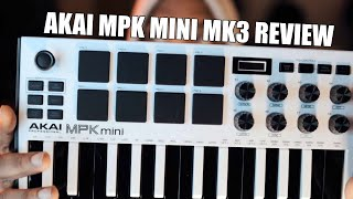 AKAI MPK Mini MK3! A Hiphop Producer Review