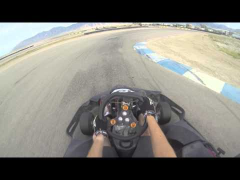 Go Karting with Go Pro 720p 60fps