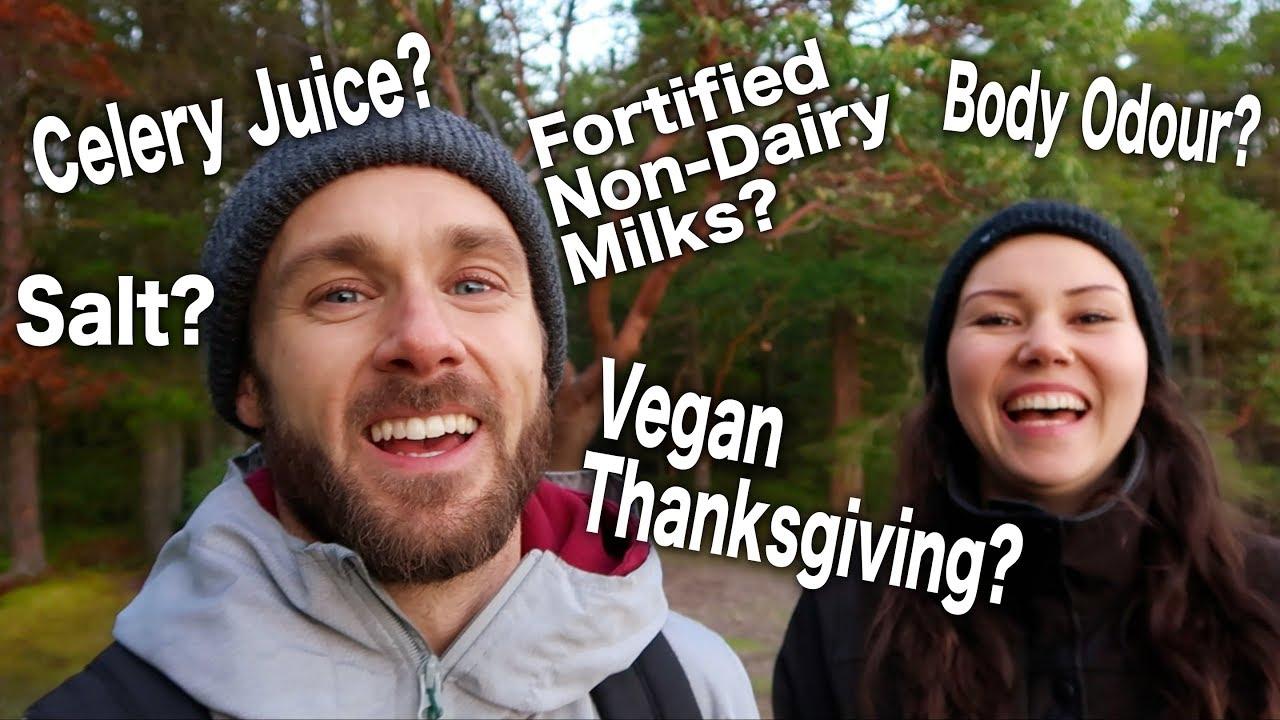 Q&A | Celery Juice, Salt, Vegan Thanksgiving, Calcium in Almond Milk