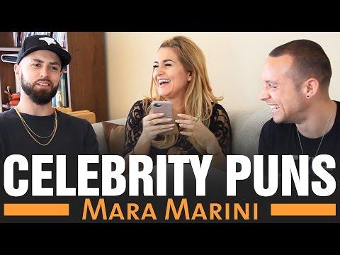 Punning with the Stars  Mara Marini