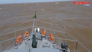 Cà Mau: tàu đánh cá bị chìm giữa biển ở Sông Đốc
