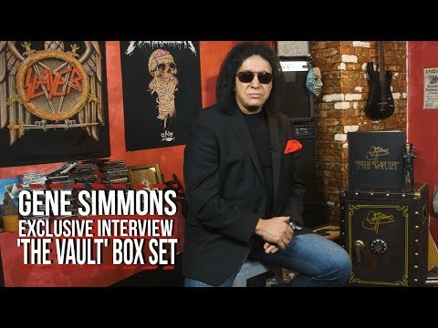 Gene Simmons Shows Off His $2,000 'Vault' Box Set