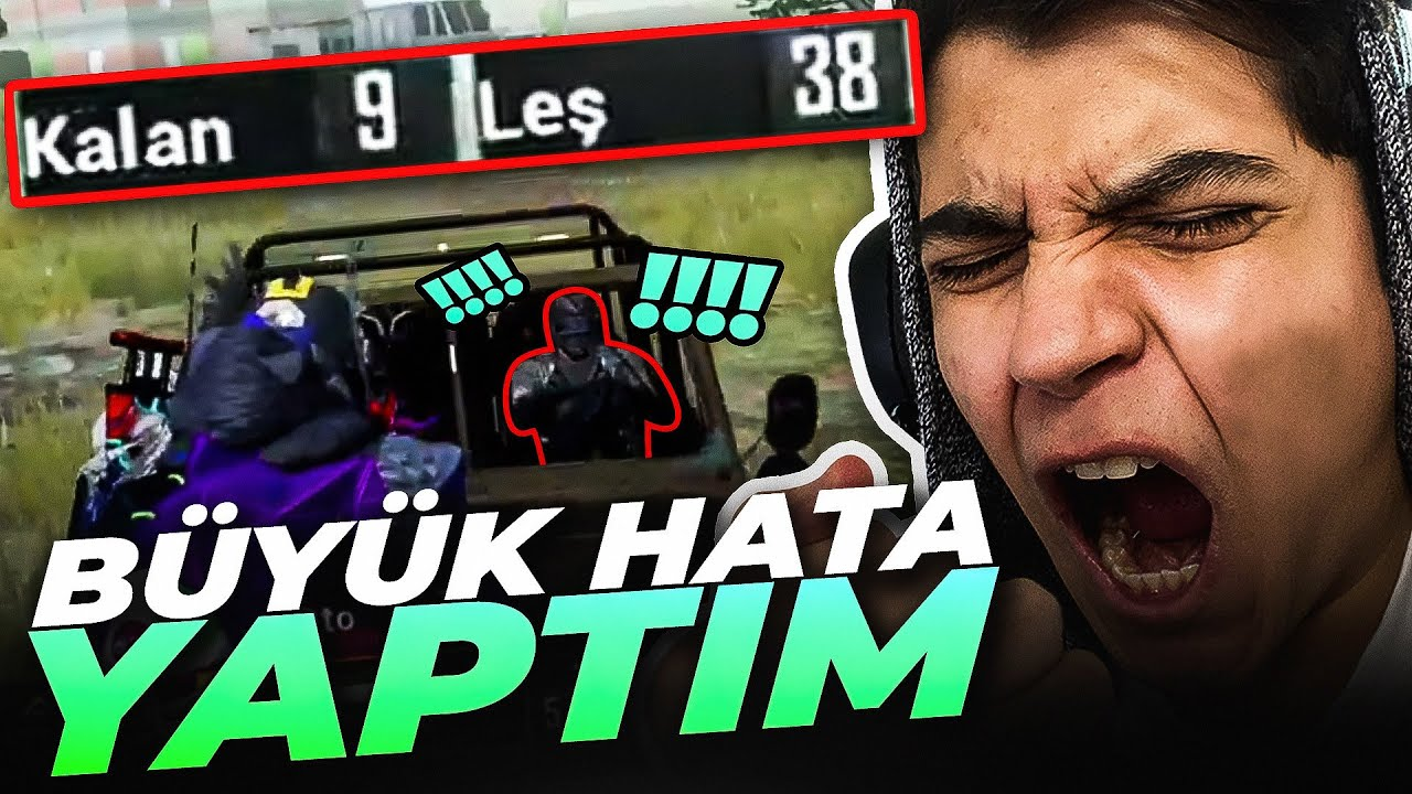 KİLL REKORU KIRACAKKEN HATA YAPTIM!!  (Zorlu Mod) | PUBG Mobile Erangel Gameplay