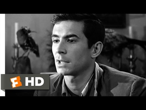 We All Go a Little Mad Sometimes  Psycho 312 Movie  1960 HD