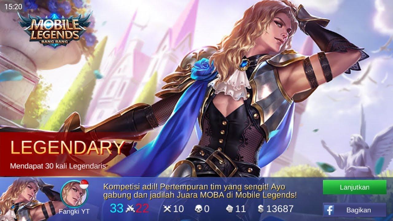 Gambar Walpaper Hero Mobile Legend Eudora Lightning Sorceress