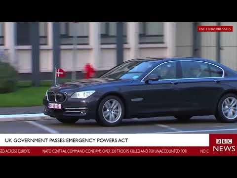 WAR ALERT LIVE BREAKING NEWS LONDON:RUSSIAN JET SHOT DOWN BY NATO FORCE NOW