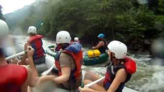 "Ocoee River Whitewater Rafting 14 ""Flipper"" and ""Twin Sisters"""