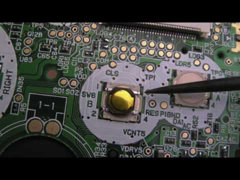 Nintendo Gameboy Advance SP Repair (RB Shoulder Button, Dust on LCD, A & B Buttons)