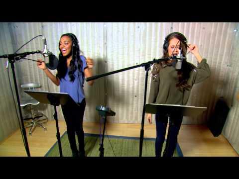 Disney Channel España   Videoclip China Anne McClain y Kelli -  Something Real (El Chico Ideal)