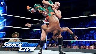 Kofi Kingston vs. Cesaro: SmackDown LIVE, Sept. 18, 2018