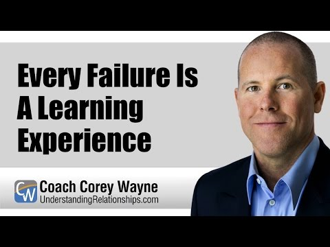 Every Failure Is A Learning Experience