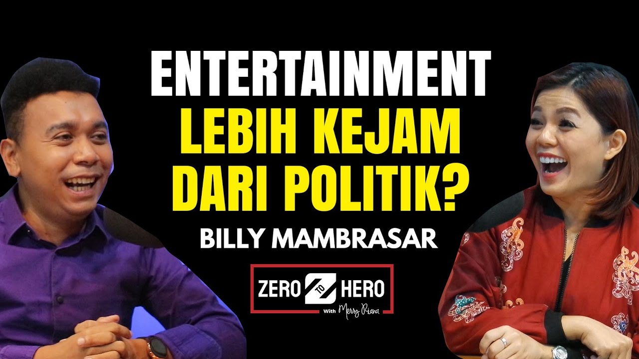 BILLY MAMBRASAR GAGAL DI INDONESIAN IDOL SAMPAI DIKATA-KATAIN DOSEN 😱  | ZERO TO HERO | Merry Riana