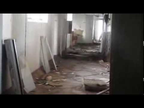 Strange Man in Abandoned Hospital Kempton Park, South Africa