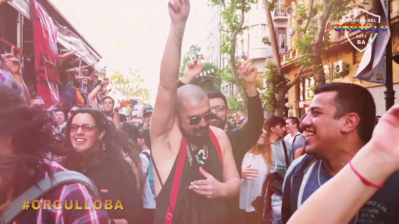 Marcha Del Orgullo 2017 Buenos Aires Youtube