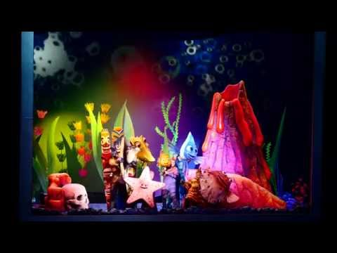 Finding Nemo (featuring Nemo and Dory) the Musical at Disney World's Animal Kingdom Full Show in HD