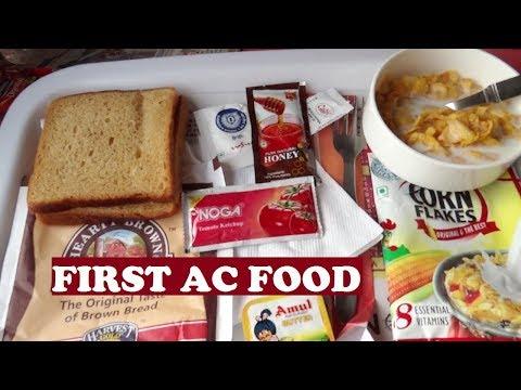 1st AC Food New Delhi Bhopal Shatabdi