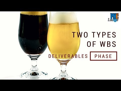 Two Types Of Work Breakdown Strucutre (WBS) - Deliverables Oriented And Phase Oriented