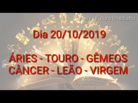 SIGNOS DIA 20/10/2019 Parte 1 | FUTURO IMEDIATTO watts 11 96707 2846 Mary