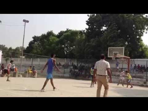 Boys Match - 1st District Basketball Competition Karnal 2016
