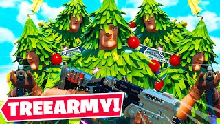 Stream Sniping Fortnite Fashion Shows with a TREE Army...