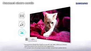 Samsung LED TV M5000 - An enriched viewing experience