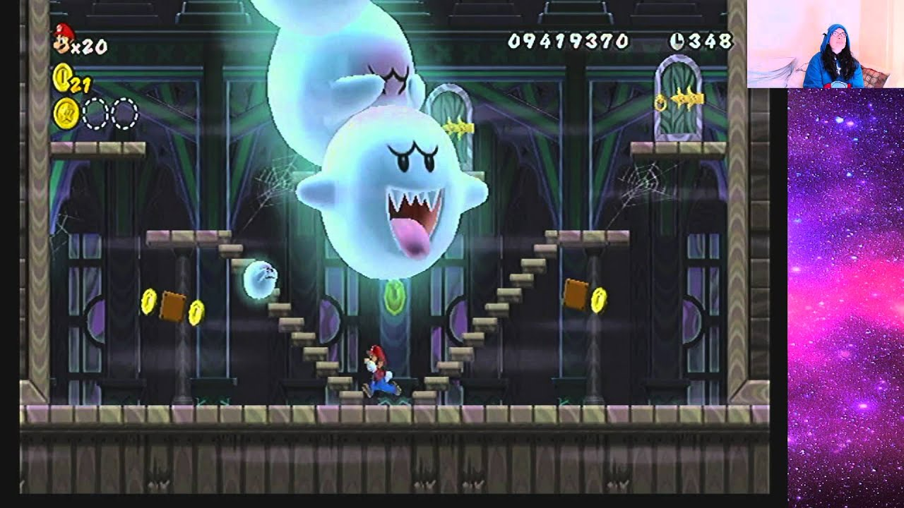 Where is the star coin in world 7 ghost house : Bus tokens