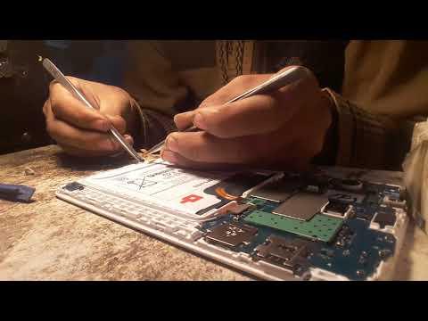 Samsung tablet t285 disassembly & mic repir