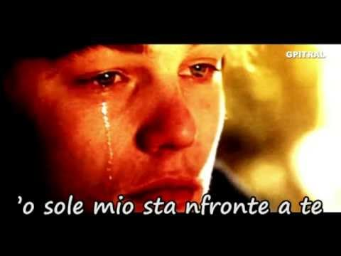 O sole mio lyrics Italian song karaoke