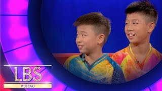 Meet The Table Tennis Brothers Nick and Lucas | Little Big Shots Australia
