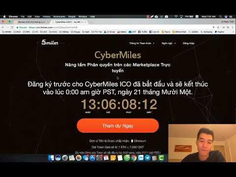ICO CyberMiles - Dự án khủng nhất, Cực kỳ tiềm năng, Cơ hội lớn nhất để kiếm nhiều nhất