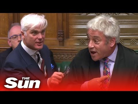 Bercow bashed for