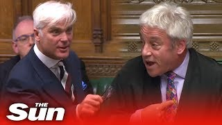 Bercow bashed for 'Brexit bias'