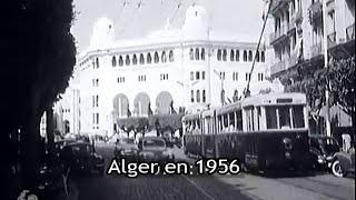 Vues d'Alger en 1956