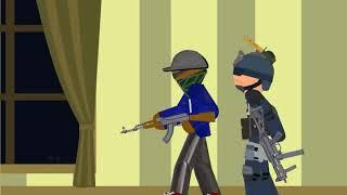 Спецназ против террористов