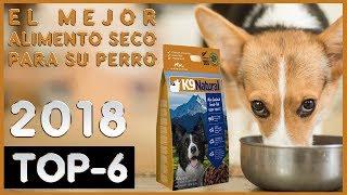 El mejor 🔥  Alimento Seco para su Perro 🐶 TOP-6 🔥