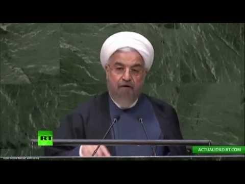 Declaración de Hassan Rouhaní, presidente de Irán (DISCURSO COMPLETO)