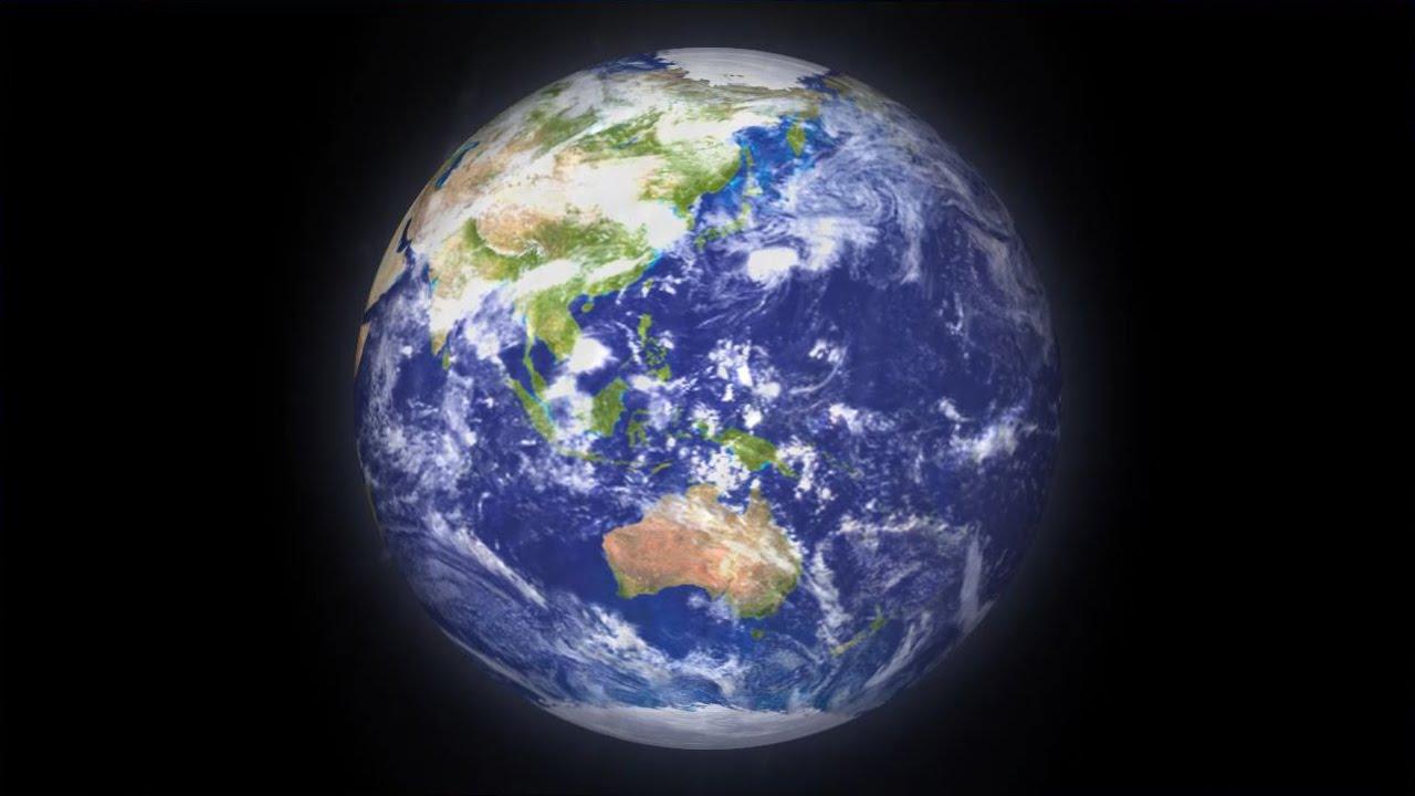フリー素材 Hd 地球アースのリアルな Cgアニメーション素材 After