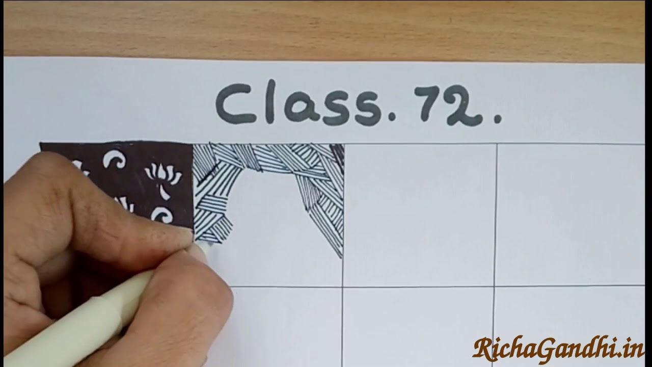 Class 72 - Worksheet - How to draw mehandi in Hindi - RichaGandhi.in ...