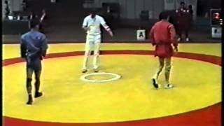 サンボ世界選手権 -57kg級 準決勝 (1995年)