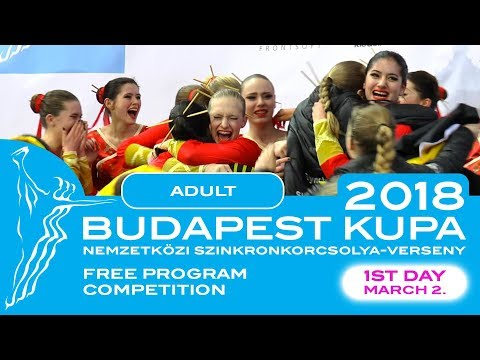 Budapest International Cup | ADULT - FREE PROGRAMS | 2. March 2018.