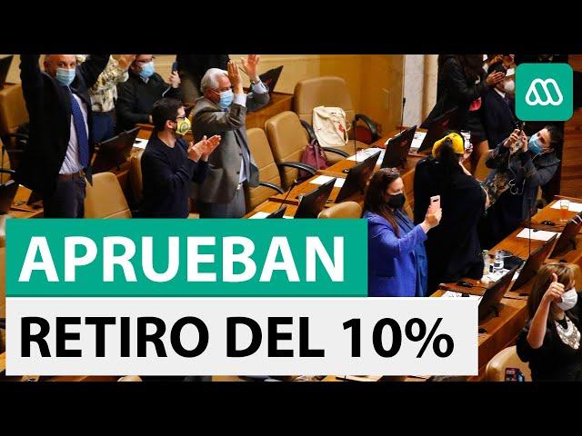 Cámara de Diputados aprueba retiro del 10% de los fondos de las AFP - Meganoticias
