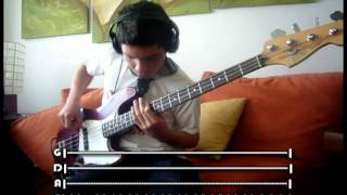 RHCP - Dosed [Bass Cover] With Tabs