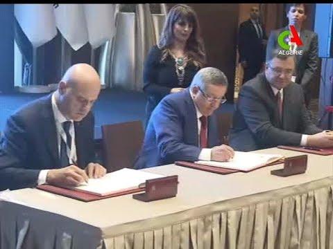 Sonatrach : signature d'accords avec ENI et Total dont deux dans l'exploration offshore