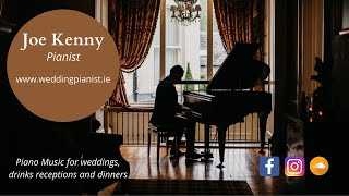 Let There Be Love - Nat King Cole - Solo Piano Cover by Joe Kenny. www.weddingpianist.ie YouTube Thumbnail