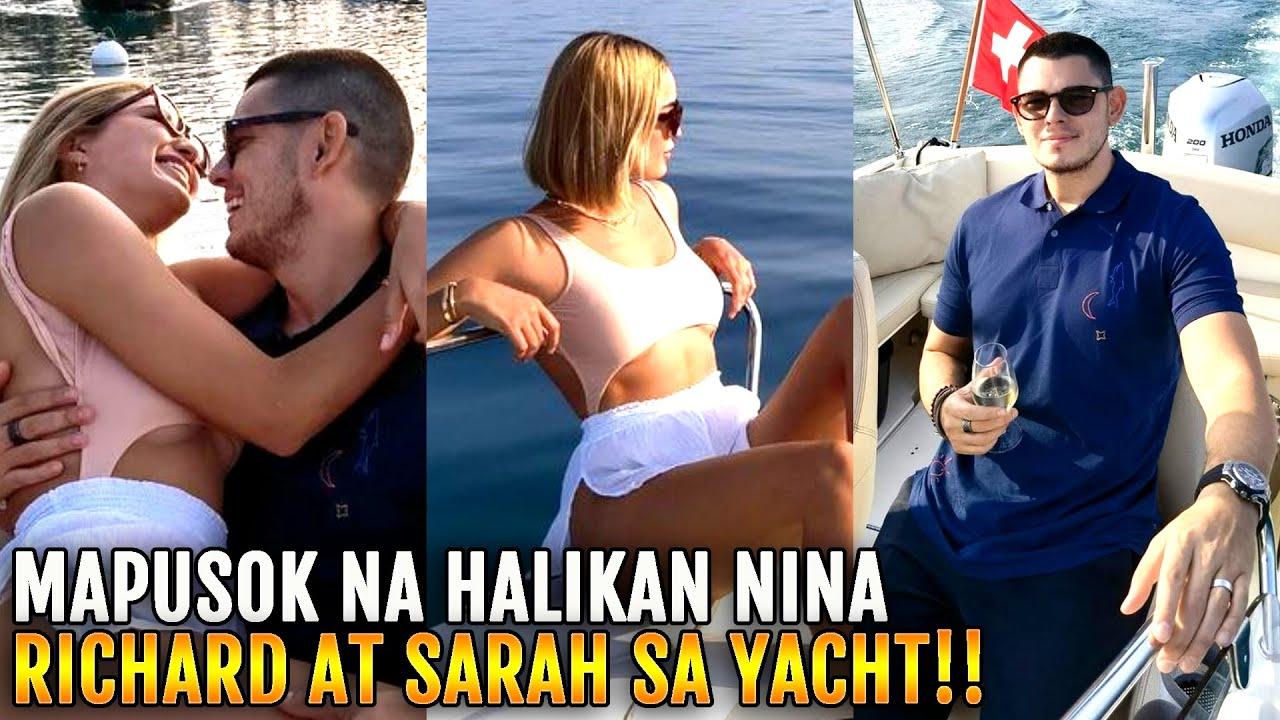 MAPUSOK na GINAWA nina Richard Gutierrez at Sarah Lahbati sa IBABAW ng YACHT Nakakagulat!!