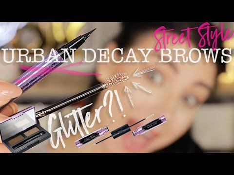 NEW Urban Decay BROWS | UD Street Style Brows Review + Swatches